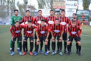 Once inicial vs UD Almansa
